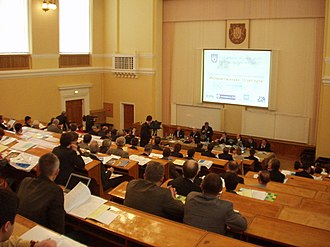 "Internet in Russia - Conference ""Internet and Science: 15 years of going"" in the Kurchatov Institute on November 10, 2005"