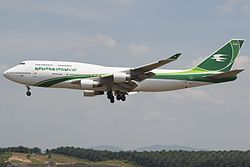 Boeing 747-400 der Iraqi Airways