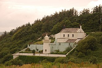 Duncannon - Lighthouse located north of Duncannon near Arthurstown, Ballyhack, An Pasaiste, Passage and Passage East, County Wexford