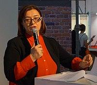 Irma Ratiani at Frankfurt Book Fair 2018.jpg