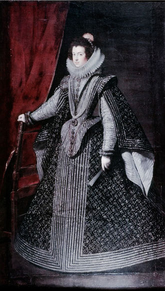 Fils de France - Image: Isabel de Borbón, from Statens Museum for Kunst, by Diego Velázquez
