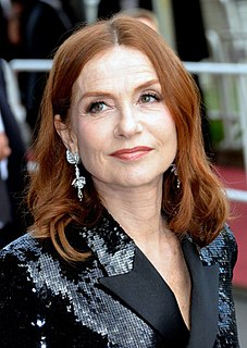 Isabelle Huppert French actress