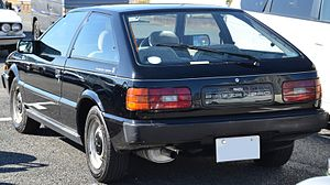Isuzu Piazza - Rear view of a Piazza Nero XJ (Japan)