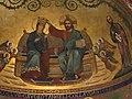 Italie, Modène, Duomo ou Cattedrale di Santa Maria Assunta in Cielo e San Geminiano (XIIe - XIIIe siècles), Détail de l'abside cenrale, Le couronnement de la Vierge Marie, XIXe siècle (50245703907).jpg
