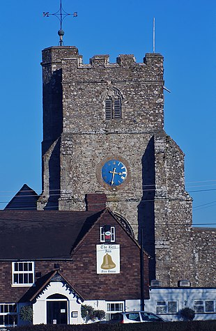 Ivychurch Church tower
