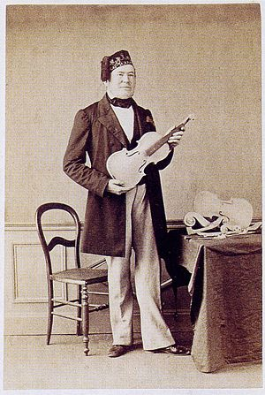 Jean-Baptiste Vuillaume - Vuillaume, photo 1860, Moulin workshop