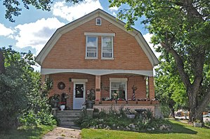 National Register of Historic Places listings in Lawrence County, South Dakota - Image: JAMES A. CORBIN HOUSE; SPEARFISH, LAWRENCE COUNTY, SD