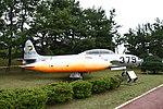 JASDF T-33A(81-5379) right side view at Komatsu Air Base September 17, 2018 01.jpg
