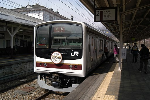 JR E 205 kei for JR Nikko line 02