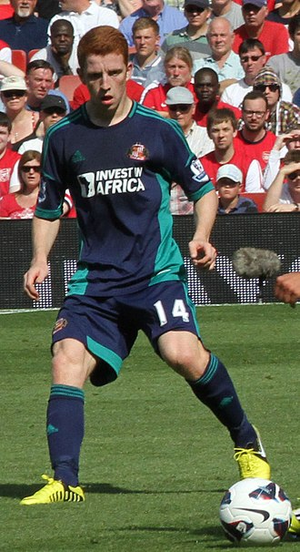 Jack Colback - Colback playing for Sunderland in 2012