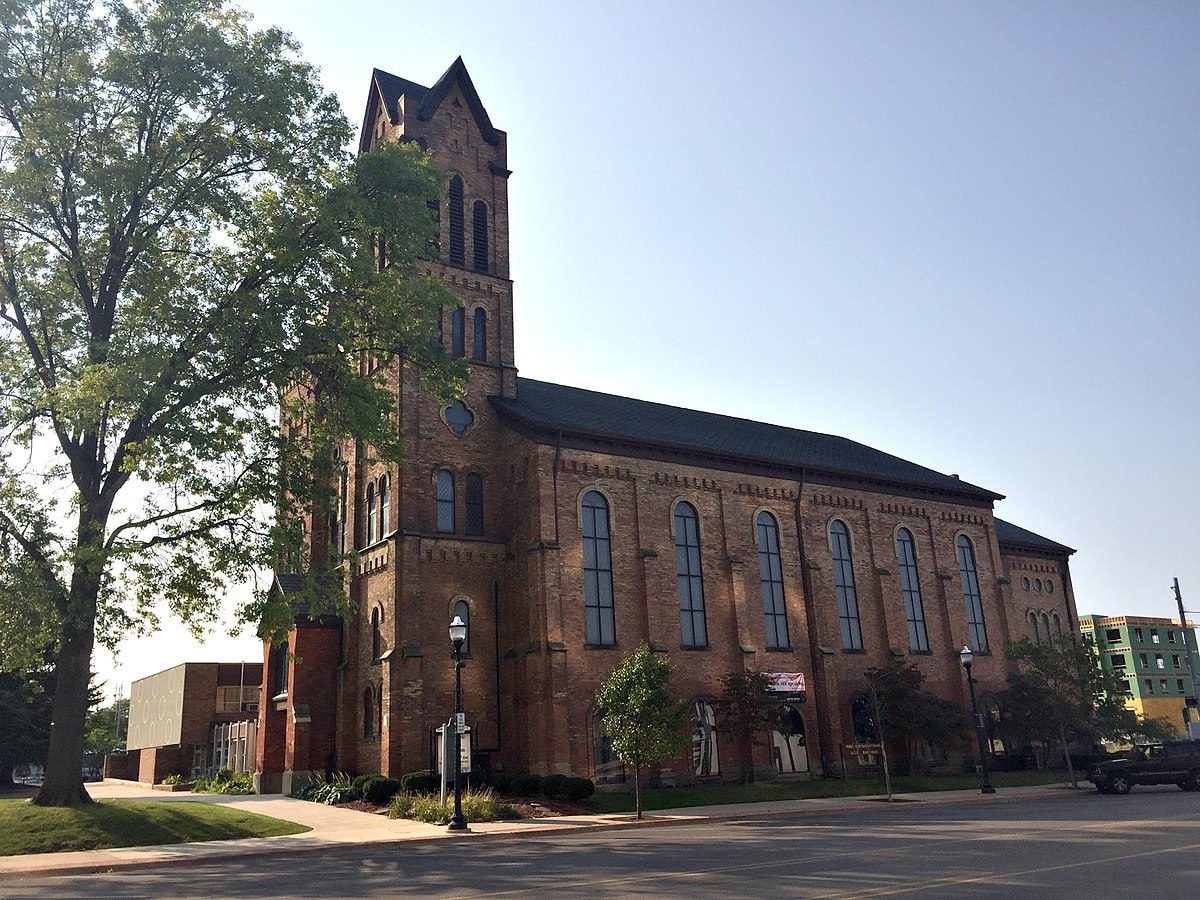 First Congregational Church Jackson Michigan Wikipedia