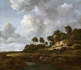 Landscape with Cornfields