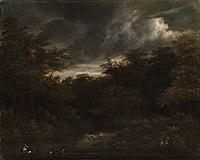 Jacob van Ruisdael - Waldwasser mit Enten.jpg