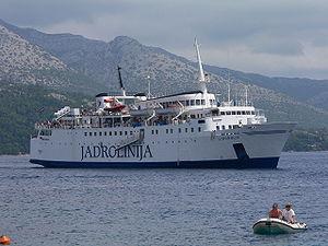 Jadrolinija ferry, Korčula