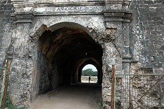 Jaffna Fort - Image: Jaffna Fort main entrance