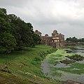 Jahaz Mahal view from champa bawdi.jpg