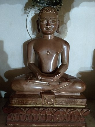 Kunthunatha - Kunthunatha statue at Anwa, Rajasthan