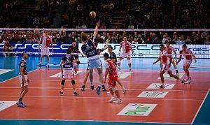 Jakub Jarosz - Image: Jakub Jarosz na zagrywce 2010 02 20