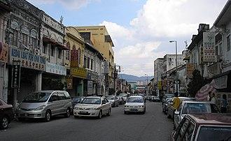 Ampang, Selangor - Image: Jalan Merdeka (southeastward), Ampang town, Selangor