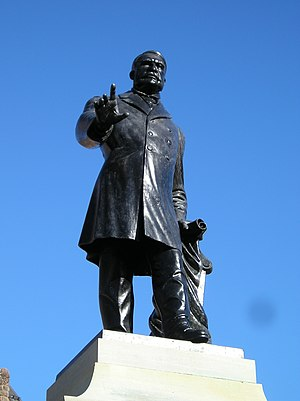 James Whitney - Statue of Sir James Whitney by Hamilton MacCarthy, Queen's Park, Toronto.