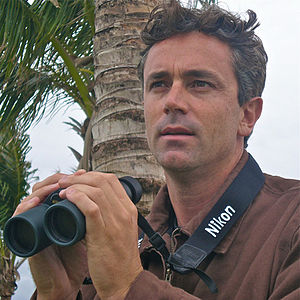 James Currie (birding expert) - Currie in Lake Worth, Florida, 2012.