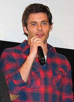James Marsden at the World Premiere of Robot and Frank, January 2012.jpg