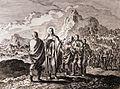 Jan Luyken's Jesus 7. John and the kingdom. Phillip Medhurst Collection.jpg