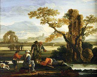 Jan de Momper painter (1617-1684)
