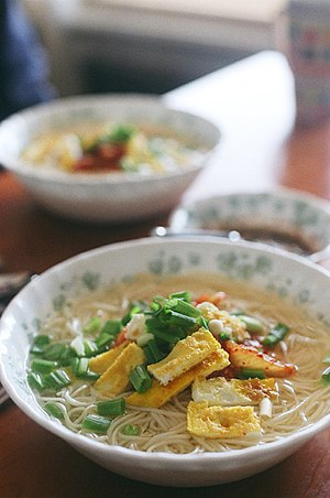 Korean noodles - Janchiguksu