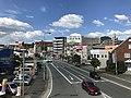 Japan National Route 495 from footbridge of Kasumigaoka 1-Chome 3.jpg