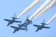 Japan air self defense force Kawasaki T-4 Blue Impulse RJST Letter 8.JPG