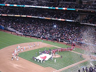 World Baseball Classic - Japan winning the inaugural World Baseball Classic