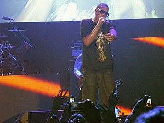 "2013 in hip hop music - Jay-Z released the hit singles ""Holy Grail"" and ""Tom Ford"" during 2013."
