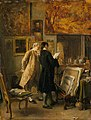 Jean Louis Ernest Meissonier (1815-1891) - An Artist Showing his Work - P325 - The Wallace Collection.jpg