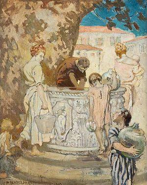 M. Jean McLane - M. Jean McLane, Venetian Well, 1907