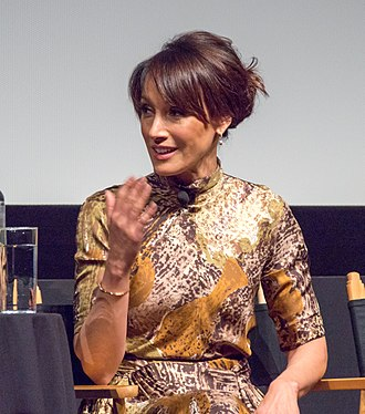 Jennifer Beals - Beals during a panel discussion of In the Soup at the 2018 Tribeca Film Festival