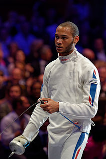 Daniel Jérent French fencer