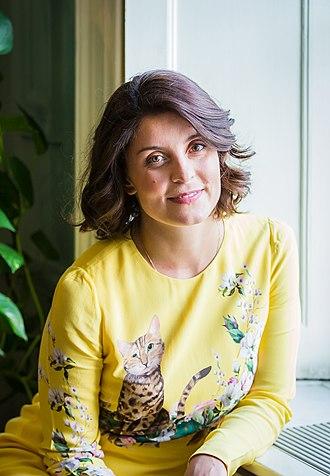 Jessie Burton - Jessie Burton, at Bloomsbury publishers, April 2018