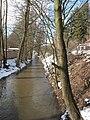 Jevanský potok nedaleko bývalého mlýna Nouzov.JPG