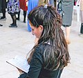 Jewish female reading in East Jerusalem.jpg