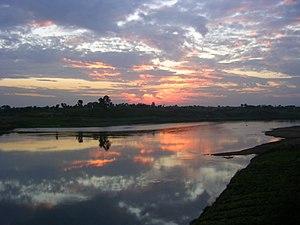 Narmada River - Narmada river bank near Jabalpur