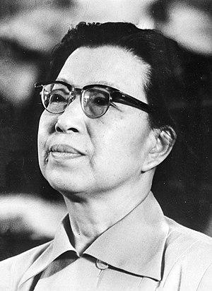 Jiang Qing - Jiang Qing in 1976