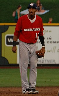 paredes with the oklahoma city redhawks in