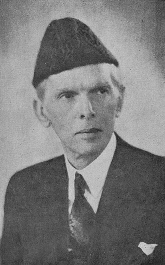 Khyber Pakhtunkhwa - Muhammad Ali Jinnah, the founder of Pakistan