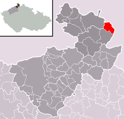 Location of Jiříkov