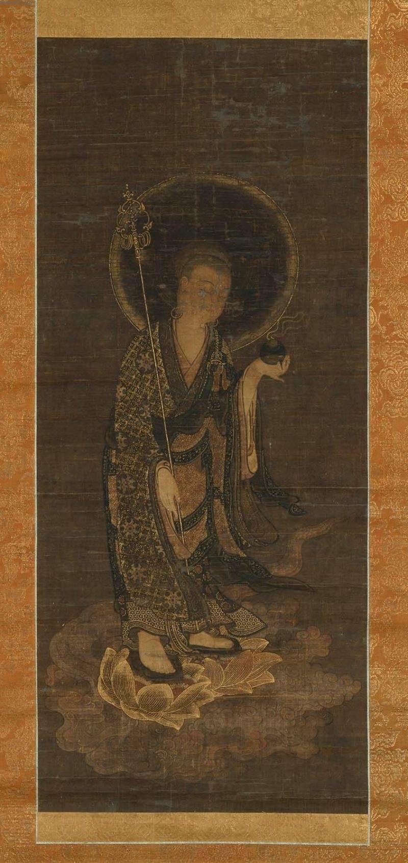 Jizo, the Bodhisattva of the Earth Matrix