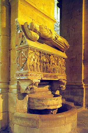 Joanna of Aragon, Countess of Ampurias - Tomb of Joanna