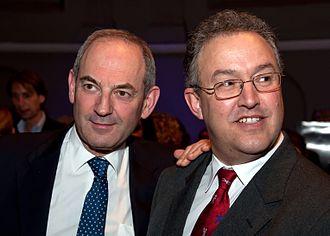 Ahmed Aboutaleb - Mayor of Amsterdam Job Cohen and Ahmed Aboutaleb in Amsterdam on 3 February 2010.