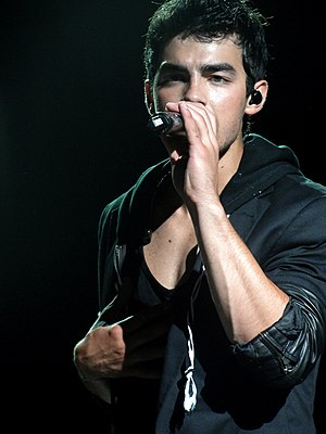 Joe Jonas in September 2010.