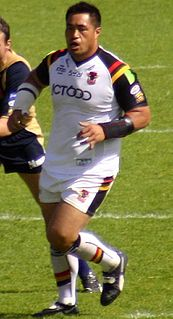 Joe Vagana New Zealand rugby league player